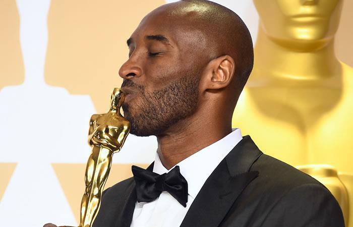 Kobe Bryant sorprende a todos ganando un Óscar