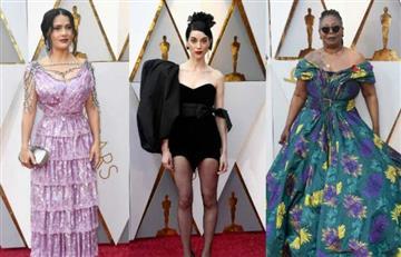 Premios Oscar 2018: Las peores vestidas de la alfombra roja