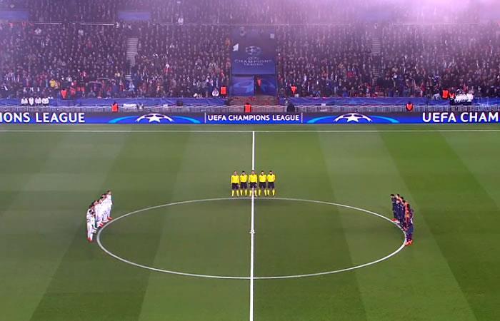 Davide Astori: Impresionante minuto de silencio en el partido del PSG vs. Madrid