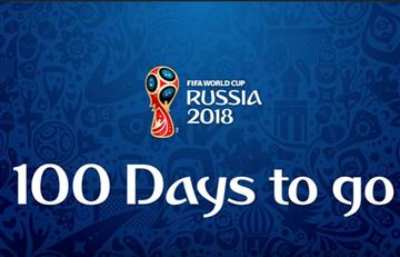 ¡Faltan 100 días para el Mundial!
