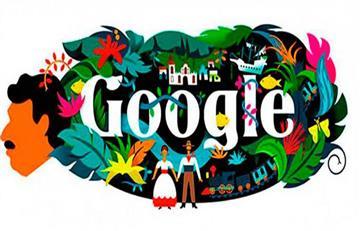 Google: Realismo mágico en el doodle homenaje a Gabriel García Márquez