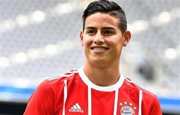 James Rodríguez será titular ante Hamburgo