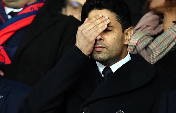 Nasser Al-Khelaifi. Foto: AFP