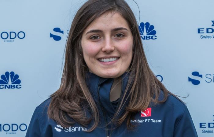 Tatiana Calderón la nueva piloto de la escudería Sauber