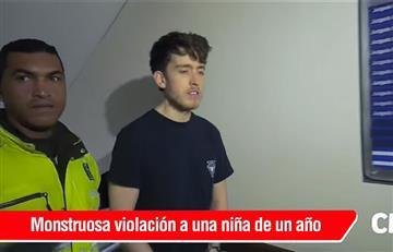 Bogotá: Legalizan captura del estadounidense acusado de abusar sexualmente de una bebé