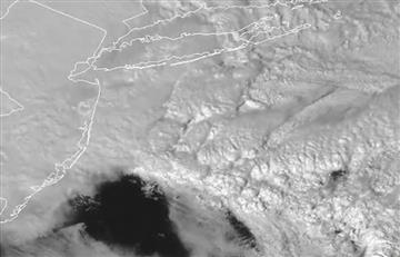 EE.UU: Así se ve la tormenta de nieve que azota al noreste del país desde el espacio