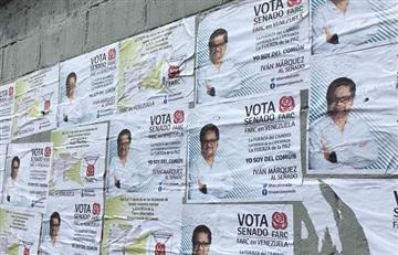 Elecciones 2018: Propaganda de las FARC se toman las calles de Caracas