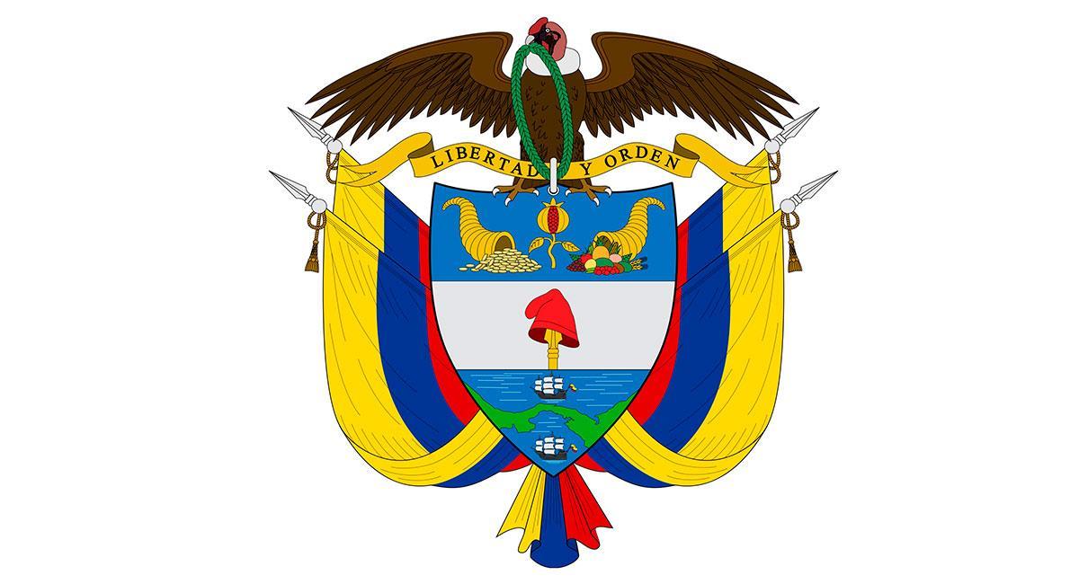 Escudo de Colombia. Foto: Shutterstock
