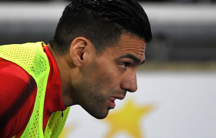 Falcao no jugó en la victoria del Mónaco