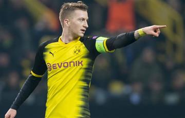 Reus mantiene su historia de amor con el Borussia Dortmund