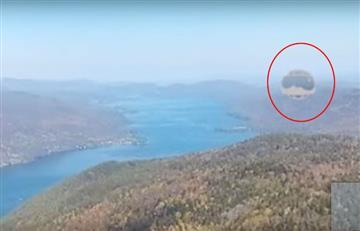 ¿Un OVNI? Misterioso globo captado con Google Earth desconcierta a los internautas