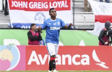 Rangers renovó el contrato del colombiano Alfredo Morelos hasta el 2021
