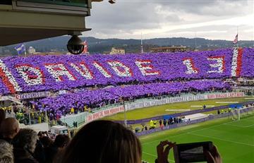 Davide Astori: Así fue el tributo de la hinchada en el partido