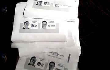 ¿Qué pasa con los tarjetones de la Consulta Interpartidista?