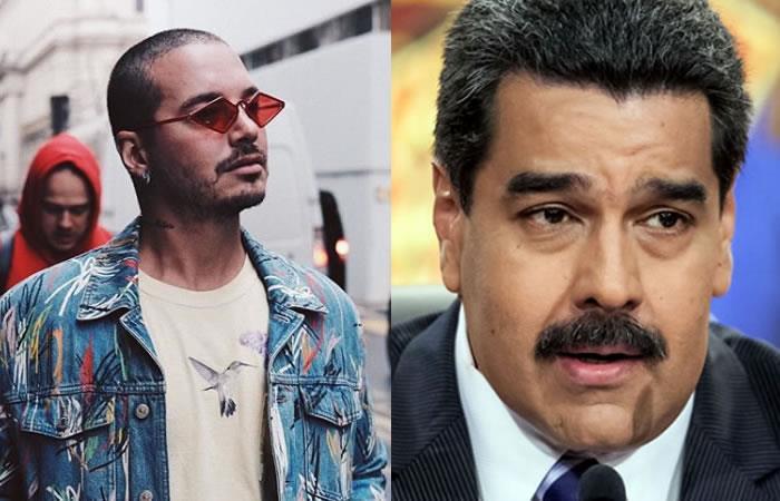 J Balvin incluye a Nicolás Maduro en su nueva canción
