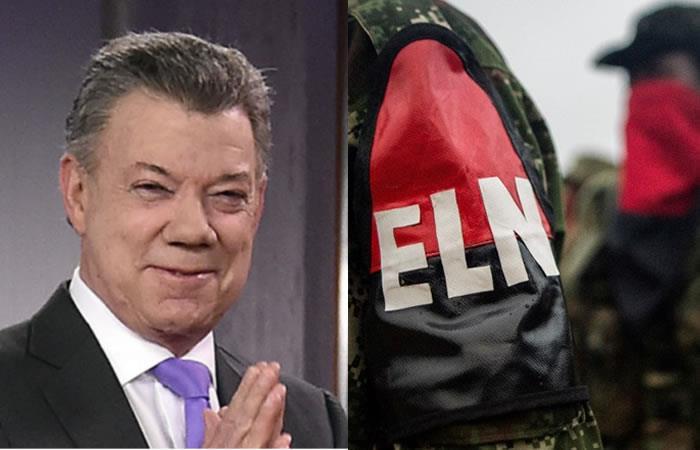 Juan Manuel Santos confirma que reanudará los diálogos de paz con el ELN