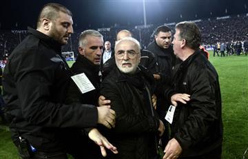 Suspenden el fútbol griego por violencia