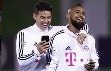 """Vidal: """"Me gustaría que Colombia gane la Copa del Mundo"""""""