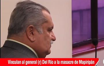 Medida de aseguramiento contra Rito Alejo del Río por masacre de Mapiripán