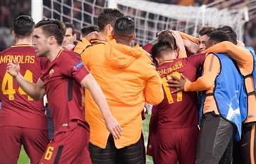 Roma se mete en cuartos de la Champions