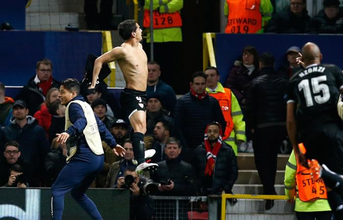 Sevilla hace historia en la Champions