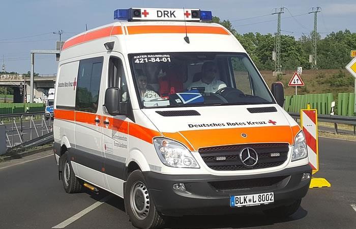 Bucaramanga: Imponen cepo a una ambulancia mientras bajaba un paciente