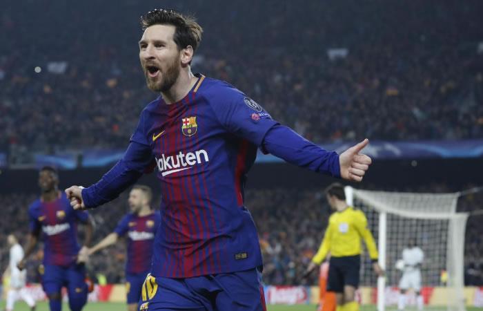 Messi con doblete sella la victoria del Barcelona