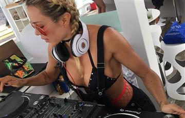 Natalia París prende las redes con una foto desnuda en una tina