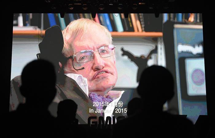Stephen Hawking, un ícono de la cultura pop en la ciencia