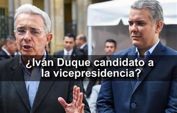 Álvaro Uribe felicita a Iván Duque por ser… ¿candidato a la vicepresidencia?