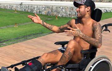 Neymar y su polémico homenaje a Stephen Hawking