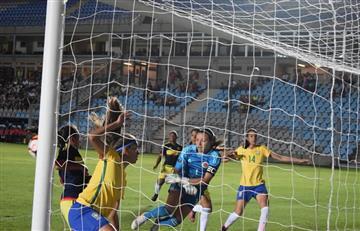 Selección Colombia Femenina: La Sub-17 le ganó a Brasil en el Suramericano