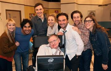 Stephen Hawking: El elenco de 'The Big Bang Theory' se despide astrofísico