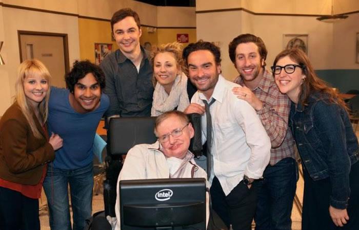Stephen Hawking: El elenco de 'The Big Bang Theory' se despide astrofísico