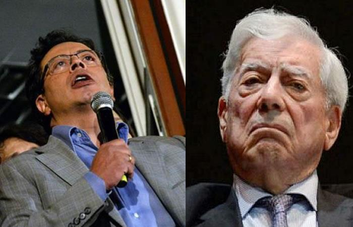 """""""Gustavo Petro es peligroso y demagogo"""", Mario Vargas Llosa"""