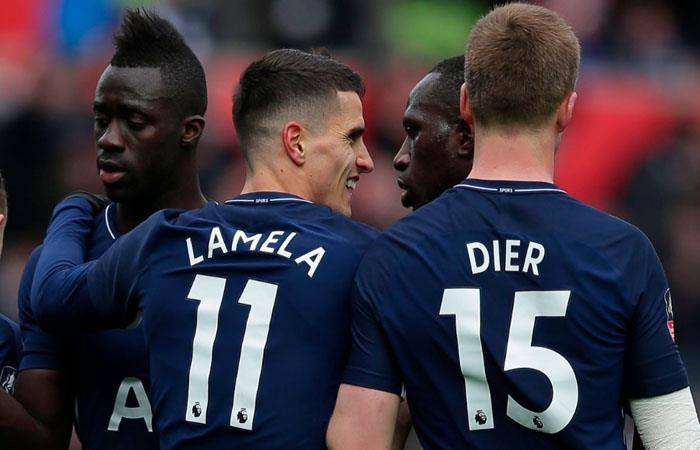 Davinson Sánchez y el Tottenhamclasifican a semifinales de la FA Cup