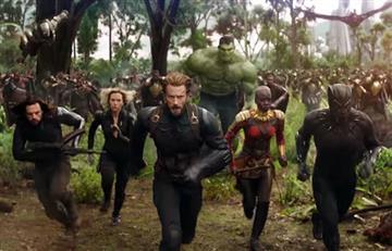 Marvel presentó el tráiler final de Avengers: Infinity War