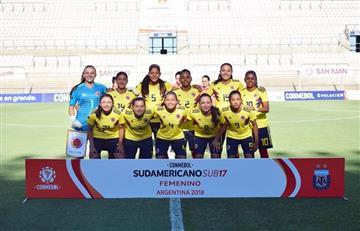Selección Colombia Femenina: La Sub-17 venció a Ecuador en el Sudamericano
