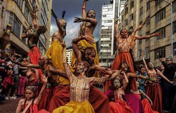 Así se vivió el desfile del Festival Iberoamericano de Teatro