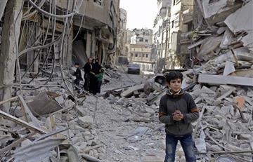 15 niños que se refugiaban en el sótano de un colegio murieron tras bombardeo en Siria