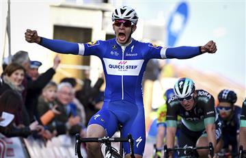 Álvaro Hodeg enorgullece a Colombia con el primer triunfo en la Vuelta a Cataluña