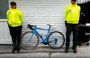 Óscar Sevilla: Policía recuperó su bicicleta
