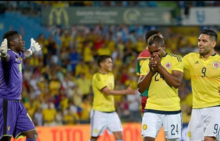 José Izquierdo y el golazo que hizo con la selección Colombia