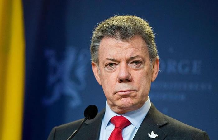 Juan Manuel Santos espera que el conflicto con el ELN se solucione