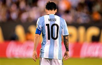 Lionel Messi y su único objetivo... el Mundial.