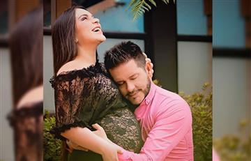 Marcelo Cezán y Michelle Gutty revelan las primeras fotos de su hijo