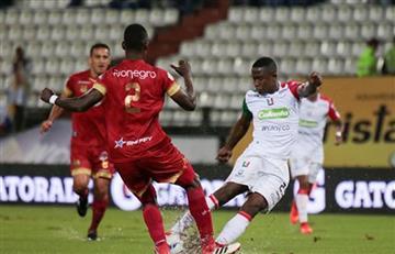 Once Caldas dio la sorpresa al caer ante Águilas Pereira