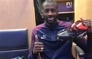 Yaya Touré centrocampista del Manchester City está desaparecido