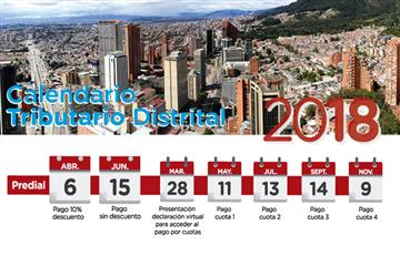 Bogotá: Falta menos de una semana para cancelar el impuesto predial por cuotas