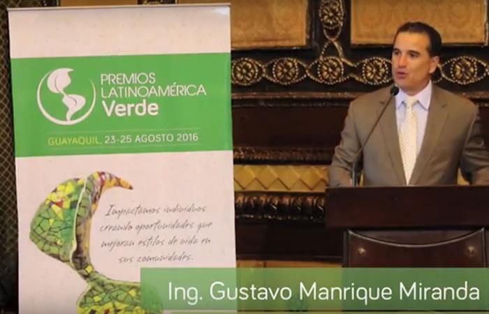 Entrevista con el Presidente de Premios Latinoamérica Verde - Gustavo Manrique